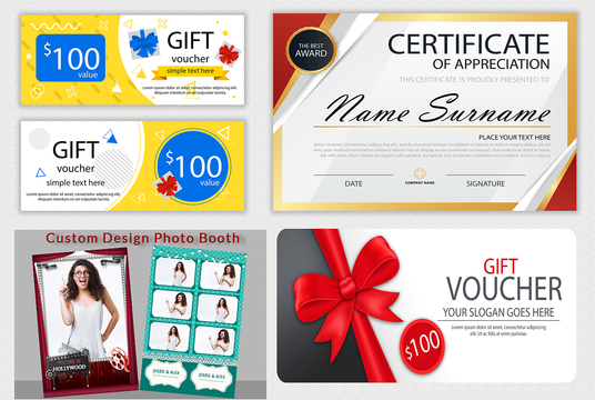 I will Design Amazon Thank You, Card, Gift Voucher, Coupon, Product Insert, Event Ticket,  Certif