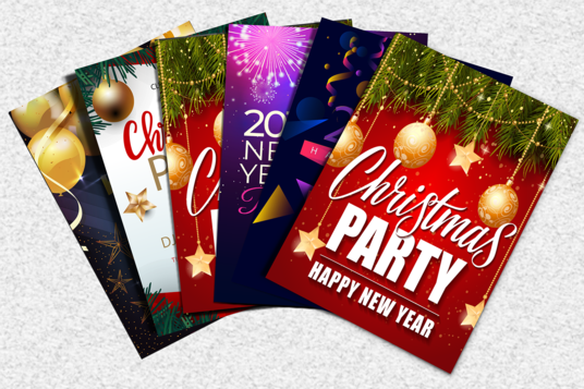 I will Do Christmas, New Year, Black Friday, Flyer, Poster,leaflet,  invitation, Gift Card
