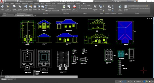 I will Convert pdf, sketch or image drawing to AutoCAD