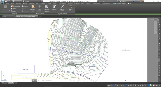I will create high-quality contours with AutoCAD Civil 3D