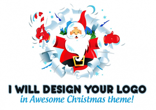 I will Design a Christmas Logo or Menu Makeover