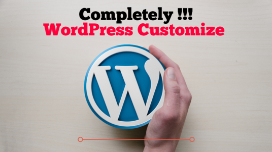 install and customize your WordPress site completely