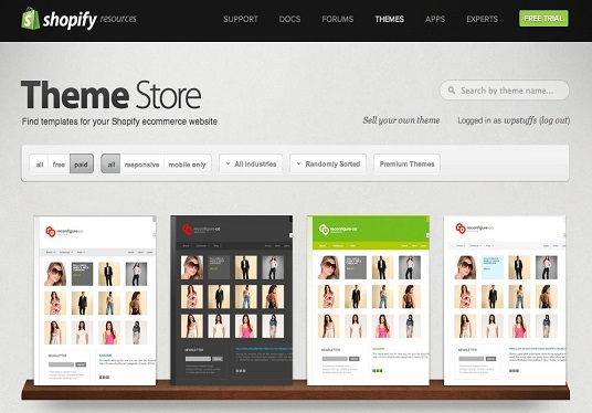 make active shopify cCommerce Store