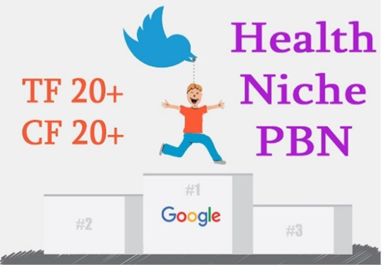 I will Provide Health Niche 1 Permanent Pbn Link