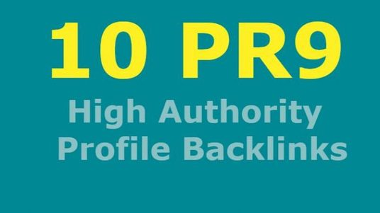 I will 10 high quality forum profile backlinks  for your website