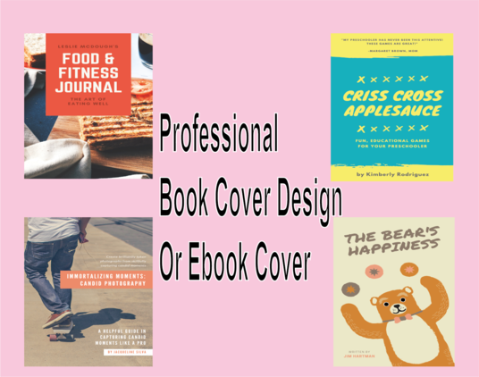I will Create Professional Book Cover Design Or Ebook Cover