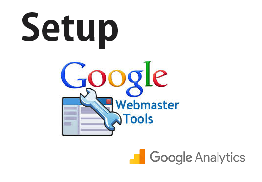 I will Setup Google Analytics and Webmaster Tools