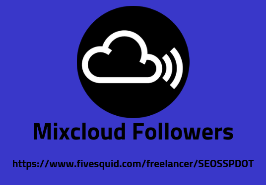 I will provide 500 usa base mixcloud followers