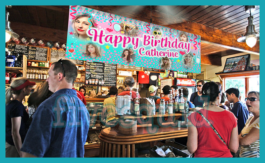 create a Happy Birthday banner