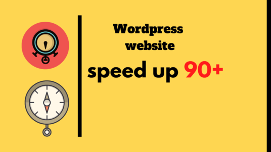 I will speed up your Wordpress site, increase Wordpress site speed 90+