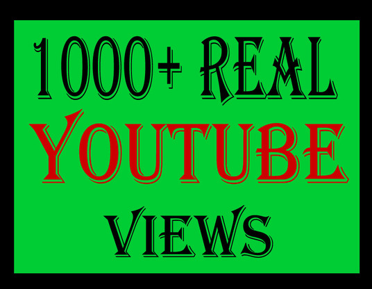 I will give you 2000+  you-tube views
