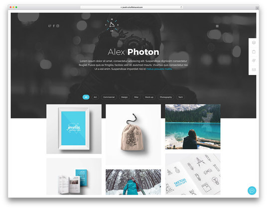I will Create  Professional Portfolio website