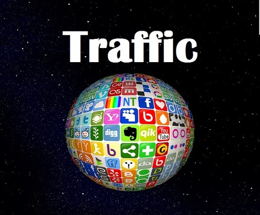 I will send  fast or slow  Unlimited organic TRAFFIC to your website with  live Statistics Analyt
