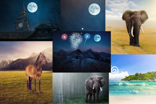 I will Create Amazing Backgrounds For You
