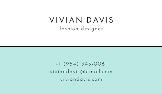 I will design a luxury  business card for your business