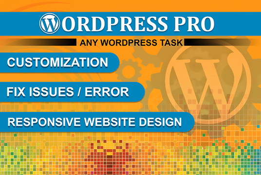 I will Create Wordpress Website With Design, Seo, Ecommerce Or Blog