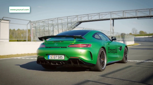 Promote Business On Mercedes Amg Gt Video