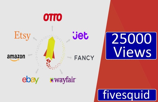 I will Provide 25000 views In your product