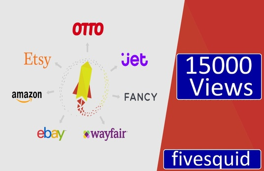 I will Provide 15000 views In your product