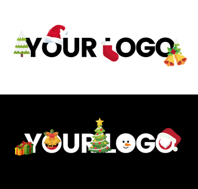cccccc-transform your Logo to Christmas Theme