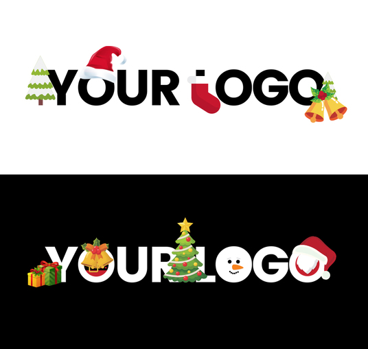 I will transform your Logo to Christmas Theme