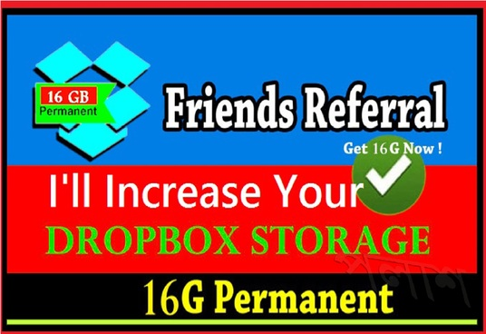 I will do complete dropbox referral task