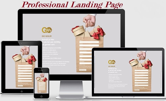 I will Build A High Converting Landing Page