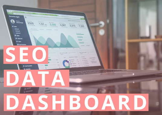 I will create an SEO  performance data dashboard