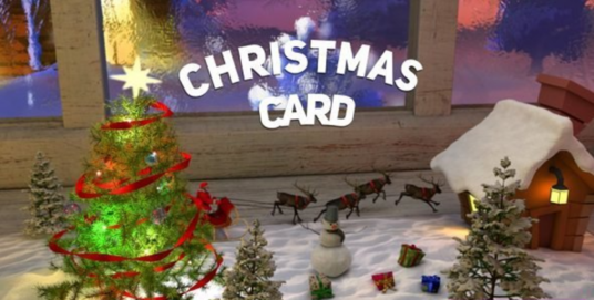 Design Christmas Video Greeting Card