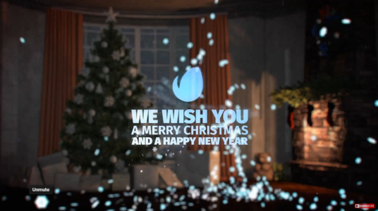 Make A Merry Christmas Video Greeting Intro