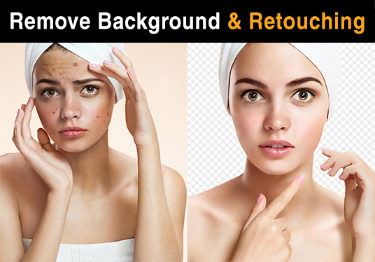 I will Remove Background Or Retouch Images