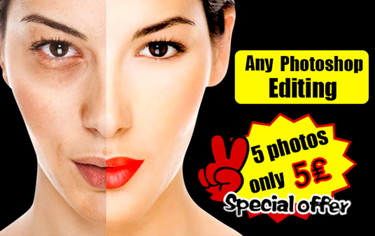 I will photo editing , photo retouching, photo resizing superfast