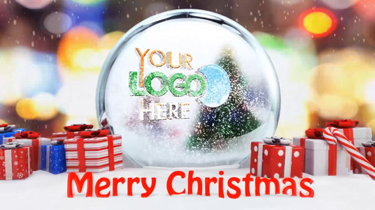 I will Create Snowman & hamster Dancing Christmas Wishes Intro Video