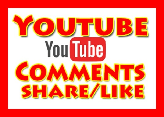 I will give you UK or USA 70+ youtube comments + 50 youtube shares + 20 likes