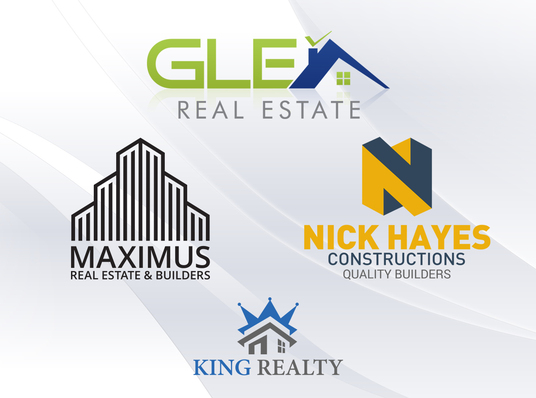 I will design amazing real estate company or agent logo