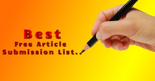 do 100 Article Submission for SEO Ranking