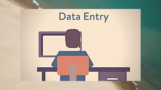 I will do copy paste and data entry work
