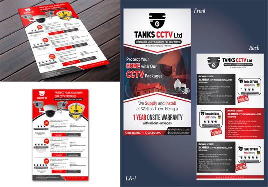 I will design Flyer,Poster or Menu