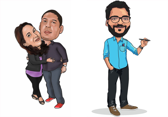 cccccc-Draw caricature and cartoons from your photo