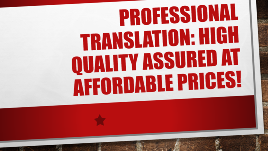 I will Translate Professionally English French, And Arabic
