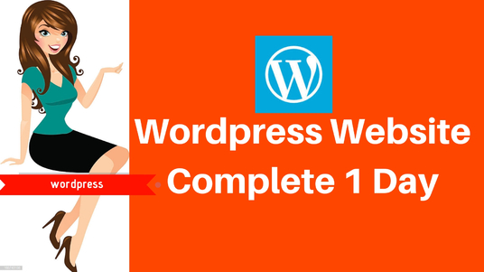 I will Build Professional  wordpress Website in 1 day