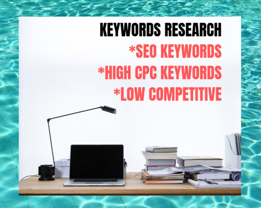 I will provide niche related keyword in 24 hour
