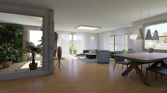 I will do 3D model and realistic architectural renderings
