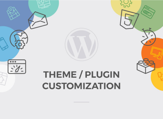 I will Do Wordpress Theme Customization, Updates, Bug Fixes