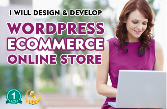 I will Design And Develop Wordpress Ecommerce Website Online Store