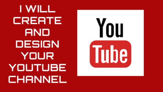 I will Create Your Youtube Channel Within 24 Hours