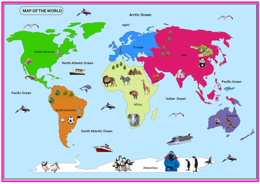 I will create any kind of world map,Country map, Campus Map, City Map, Route map, Stadium Map for