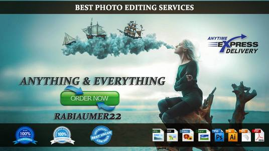I will Do anytype of photoshop work very fast