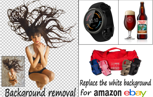 20 Image Background Removal And Amazon Ebay Product Editing