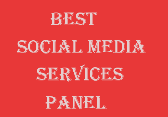 I will Provide You Best Social Media Services Panel
